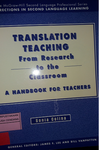TRANSLATION TEACHING From Research to the Classroom